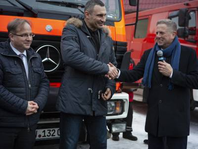 Equipment saves lives: Kyiv received 6 fire rescue vehicles from the German Government and the City of Munich