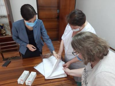 Treating COVID-19 and keeping patients safe. GIZ supports hospitals in the east of Ukraine