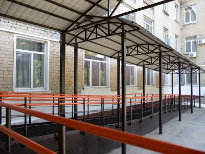 Barrier-free access to medical services in the Novohrodivka community
